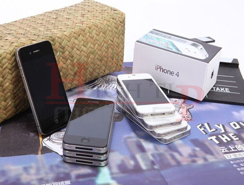 Sealed Apple iPhone 4 iOS 8GB 16GB 32GB ROM 3.5 inches 5MP Camera WIFI GPS Cell Phone 16gb black 2