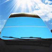 hot deal buy car half cover dust resistant shield car covers sun shade car snow shades auto front windscreen protector