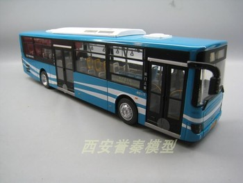 Limited Edition Special Die Casting Metal 1/43 Bus Simulator Desktop Display Collection Model Toys For Children