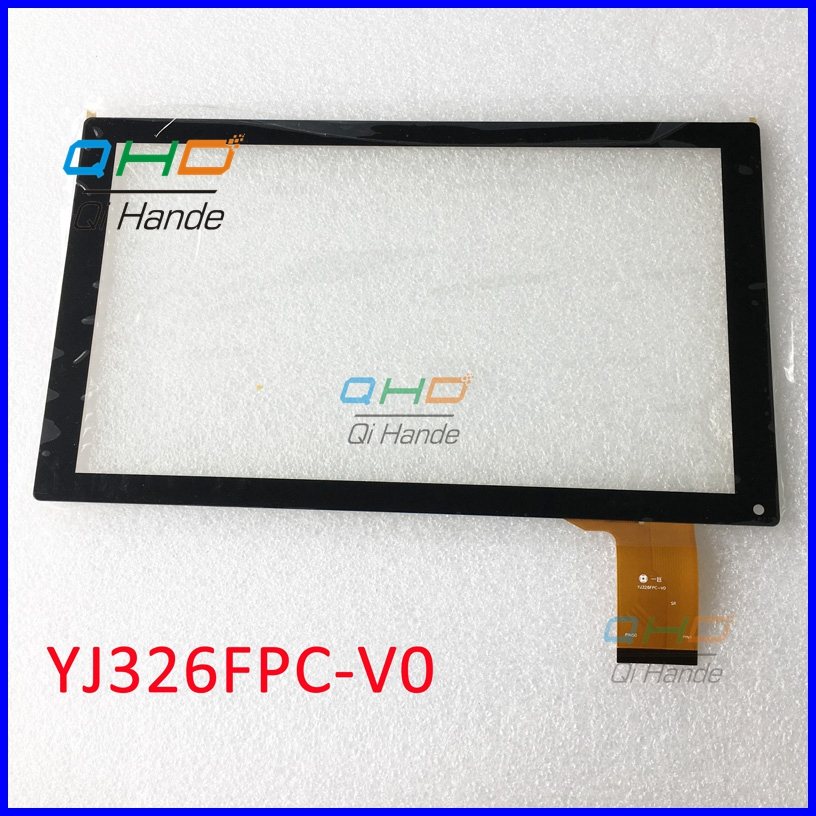 Free shipping 1PCS 10.1 -inch Tablet PC handwriting screen YJ326FPC-V0 Touch Screen Digitizer Sensor Panel Replacement Parts 10pcs lot free shipping 9 inch flat panel touch screen cn057 fpc v0 1 capacitive screen handwriting external screen