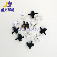 Hot Sale&Good Price!!!5*3mm Ink Tube Connector for Water Based/ECO-solvent/UV  Inkjet Solvent Printer все цены