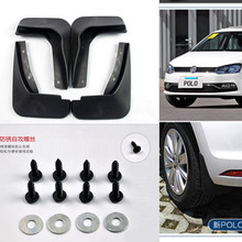 car front rear mud guards mudguard fenders for volkswagen polo 2002 – 2016