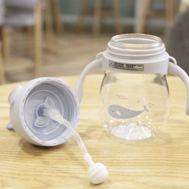 حار زجاجة رضاعة للأطفال مكافحة المغص الهواء تنفيس واسعة الرقبة الطبيعية التمريض زجاجة تستخدم في الرضاعة للرضع BPA الحرة 270 مللي الطفل زجاجات منتجات العناية الشخصية 4