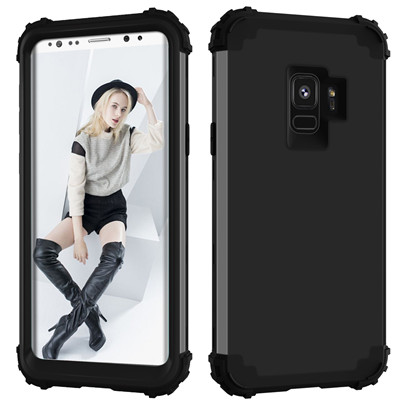 Heavy Duty Hybrid Case For Samsung Galaxy S9 S9Plus Shockproof Armor Rugged Case Cover Hard PC + Soft Rubber Silicone Phone Case (6)