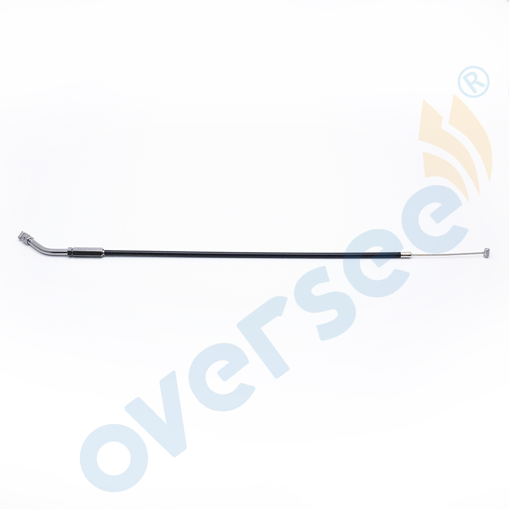 OVERSEE 677-26301-02 Throttle Cable Assy Wire Fit Yamaha Outboard Engine 5HP E8 8HP 677-26301 01 00 03 26311