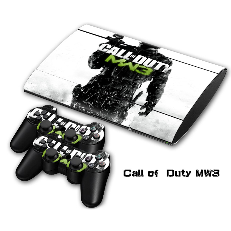 Call of Duty MW3 Vinyl Skin Sticker For Sony PlayStation 3 Super Slim Console and Controller Skin