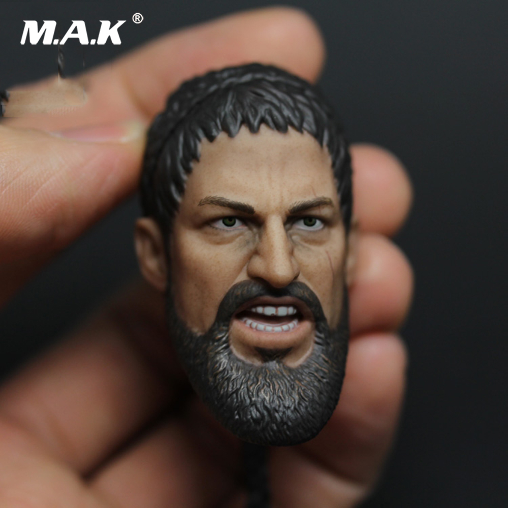 1 6th Gerard Butler Head Model 300 King Leonidas Sparta Head Toy New In Stock Roar