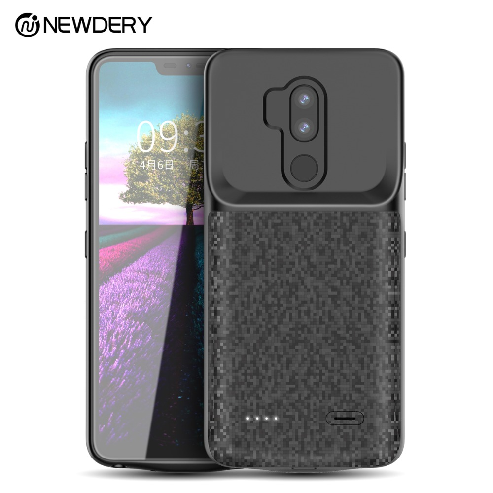 new arrival faf66 ae001 US $35.99 40% OFF New arrival Gift Battery case for LG G7 Thin Q G7 plus  4700mAh full cover charger power phone case for G7+ Thin Q power bank-in ...