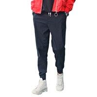 Brand Clothing Harem Pants Men Casual Pants Men Sweat Pants Male Cotton Sportswear Straight Pants Hip