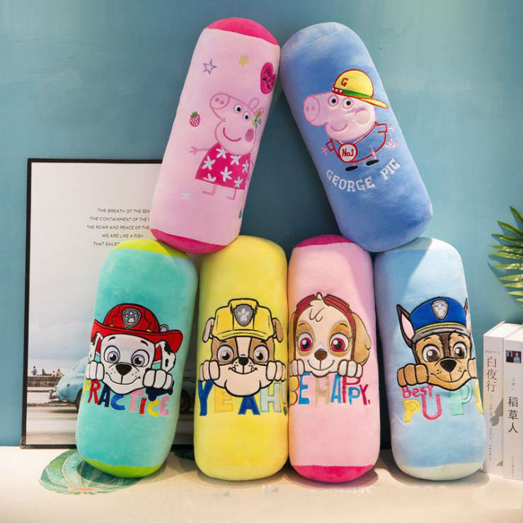 US $14 95 32% OFF Genuine Paw Patrol 5 colors candy pillow Neck protect  pillows skye rubble chase Everest Marshall kids Children's plush toy doll  -in