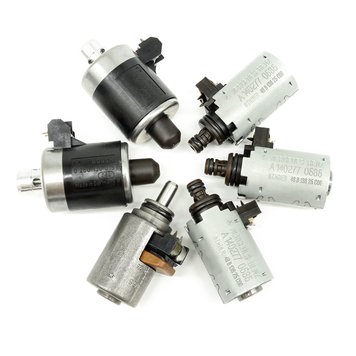 6pcs set transmission solenoids 722 6 spend sensor for mercedes benz automatic transmission solenoid 5  [ 1200 x 1200 Pixel ]