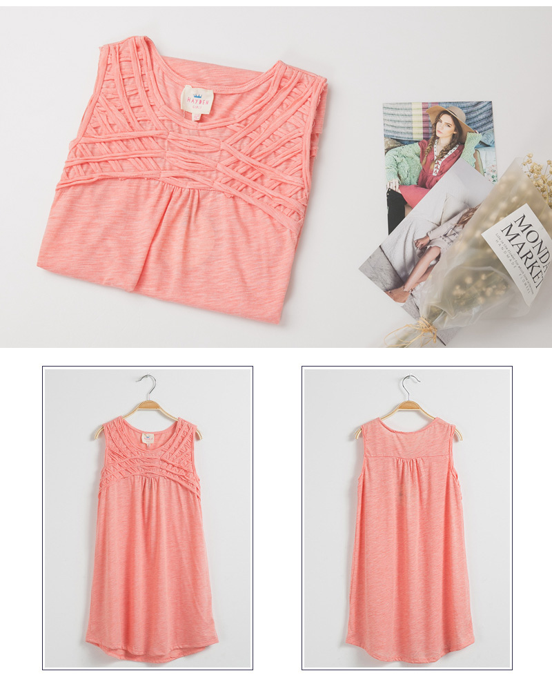 girls sundress cotton G3554-14