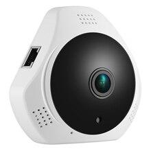 SANNCE 360 градусов Беспроводная панорамная камера мини 960 P сеть Wi-Fi Fisheye безопасность ip-камера wifi 1.3MP видео Встроенный микрофон