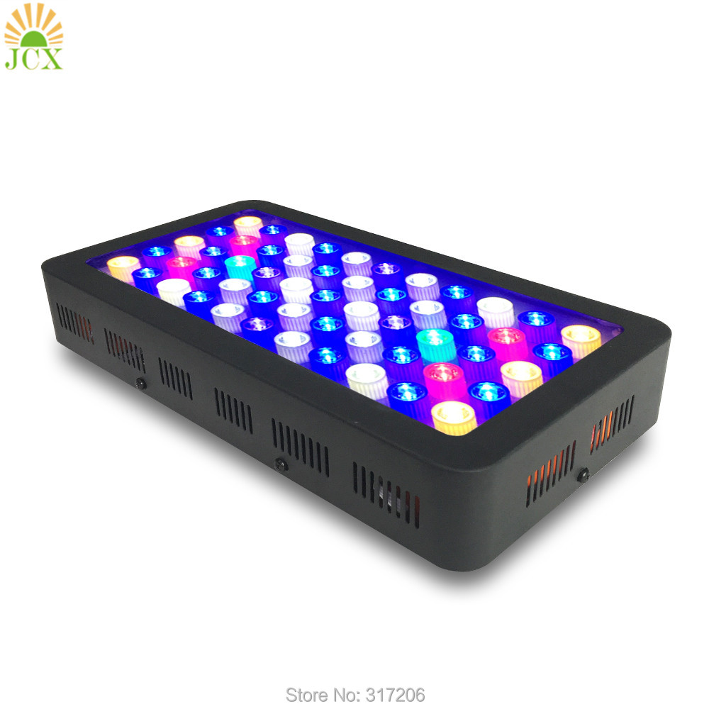 Full spectrum 165w Dimmable LED Aquarium Light for Coral Reef Aquarium led for Fish Tank Light