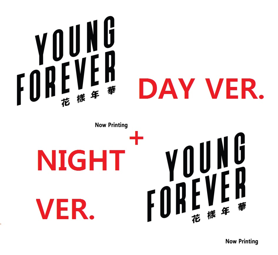 BTS SPECIAL ALBUM - YOUNG FOREVER ( DAY VER. + NIGHT VER ) + 112P PHOTOBOOK +1 RANDOM POLAROID CARD + 1 POSTER WITHIN PACKAGE b1a4 7th mini album rollin random cover release date 2017 09 28