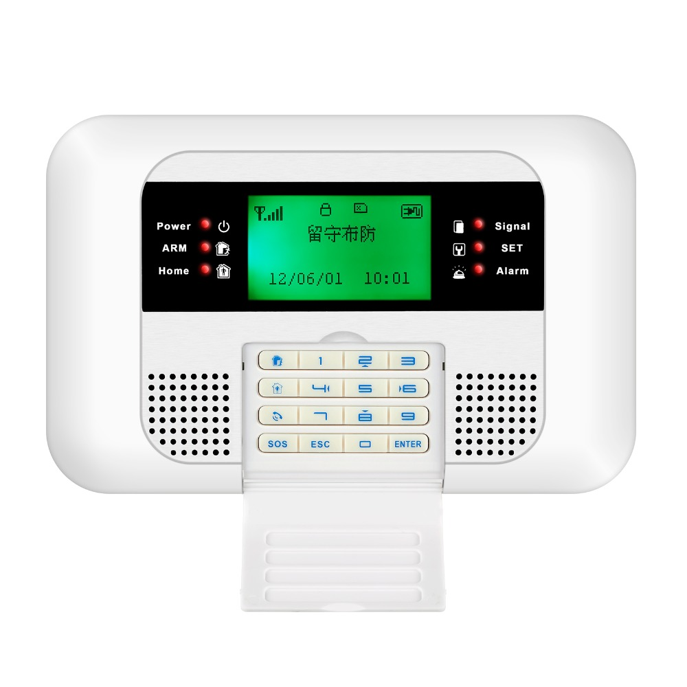 Free Shipping!English Voice Wireless Menu PSTN GSM Alarm system Home security Alarm systems LCD Keyboard Sensor free shipping english russian wireless gsm pstn phone line 110db siren home security alarm systems lcd touch keyboard smoke fire