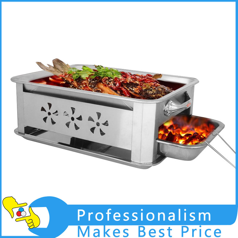1Pcs Stainless Steel Grilled Fish Furnace Charcoal Grill Kitchen Tool With Good Quality 1pcs ga 8knxp rev1 0 875 selling with good quality