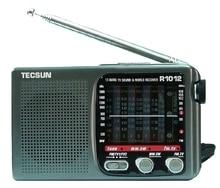 Розничная продажа Оптовая продажа Новый Полный бренд TECSUN r-1012 высокое качество MW SW FM-ТВ 12 группы Всемирного Радио приемник