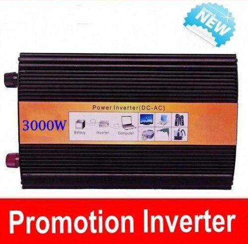 цена на 3000W Peak 6000W Pure Sine Wave Inverter 12/24/12V to 230/230VAC Power Inverter 3000W Pure Sinus Inverter