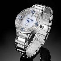 Baosaili The New Alloy Diamond Luxury Trend Waterproof Ladies Quartz Watch