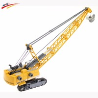1 87 Crawler Tower Cable Excavator Alloy Diecast Model Engineering Vehicle Tower Crane Collection Gift For