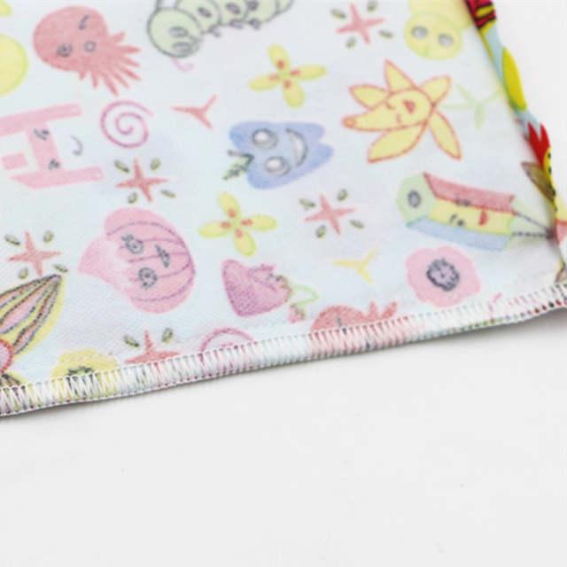 Baby Double Pocket Diaper Bag Zipper Cute Owl Waterproof Wet Dry Cloth Handle Mummy Care