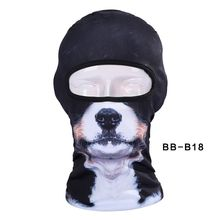 New Lovely Cute New 3d Dog Animal Bicycle Cycling Fishing Hat Outdoor Sports Cap Ski Balaclava Motorcycle Full Face Mask Bbb18