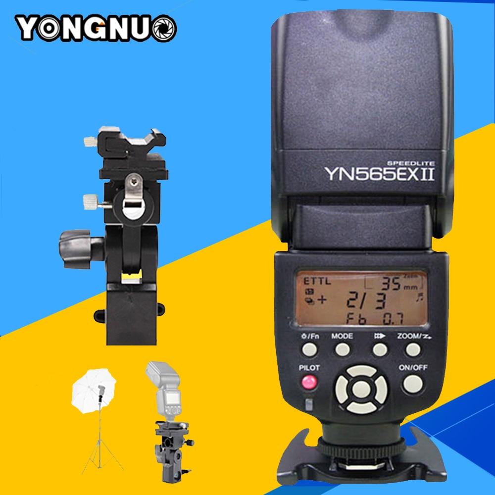 Yongnuo YN565EX II Speedlite TTL Flash YN-565EX II For Canon 1100d 650d 600d 700d 6d 60d 5d mark iii 550d 7d 5d mark ii Camera yn e3 rt ttl radio trigger speedlite transmitter as st e3 rt for canon 600ex rt new arrival