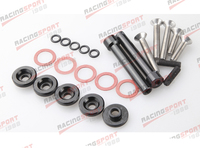 BLACK Valve Cover Washers for D Series D16 D16Y Honda Civic 5 PACK