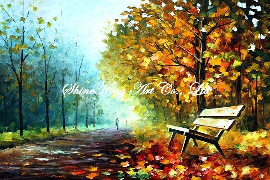 handmade modern oil painting font b knife b font oil painting K105