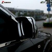 Acessórios do carro Espelho Porta Tampa Decoração Sun Guarda Chuva Escudo Defletor Para Dodge Journey Jcuv Fiat Freemont 2013-2016