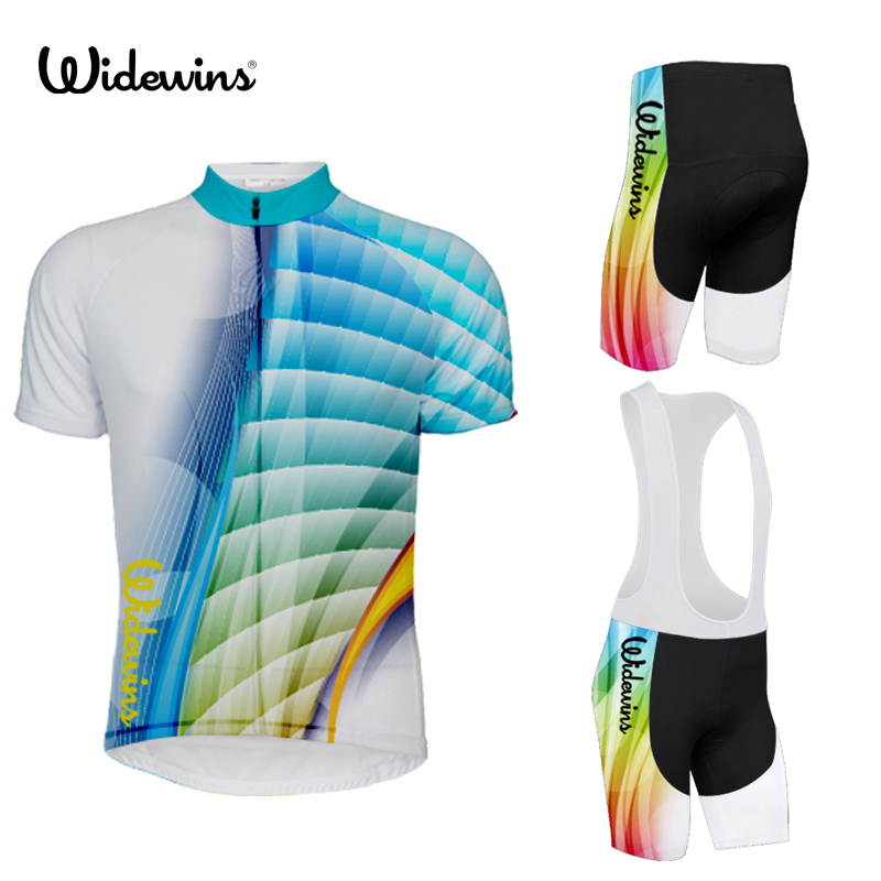 2019 Bicycle colour Quick Dry Cycling Jersey Set MTB Road Bicycle Clothing Breathable Mountain Bike Clothes Cycling Set 5791|Cycling Sets| |  - title=