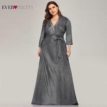 Женские блестящие платья для матери невесты Ever Pretty, Длинные вечерние платья для матери невесты, платья из Саудовской Аравии, EP07950NB