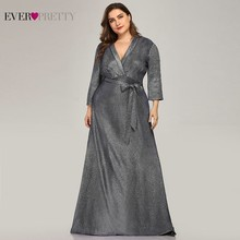 Plus Size Sparkle Mother Of The Bride Dresses Ever Pretty EP07950NB Saudi Arabia Farsali Long Evening Gowns Vestidos De Novia