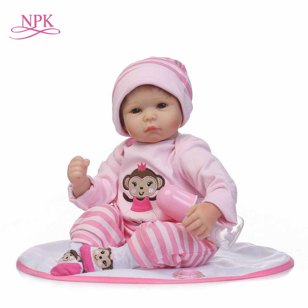 NPK wholesale reborn baby doll hot selling dolls lifelike soft silicone real gentle touch gifts for Childrens DayNPK wholesale reborn baby doll hot selling dolls lifelike soft silicone real gentle touch gifts for Childrens Day