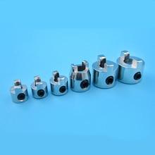 5PC 3 17mm 4mm 4 76mm 5mm 6 35mm Propeller Adapter Metal Propellers Fixing Clip Shaft