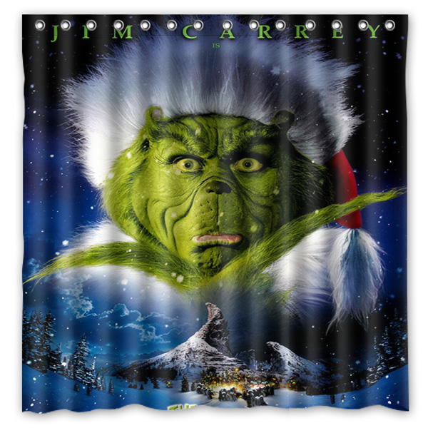 Online Buy Wholesale christmas shower curtain set from China ...