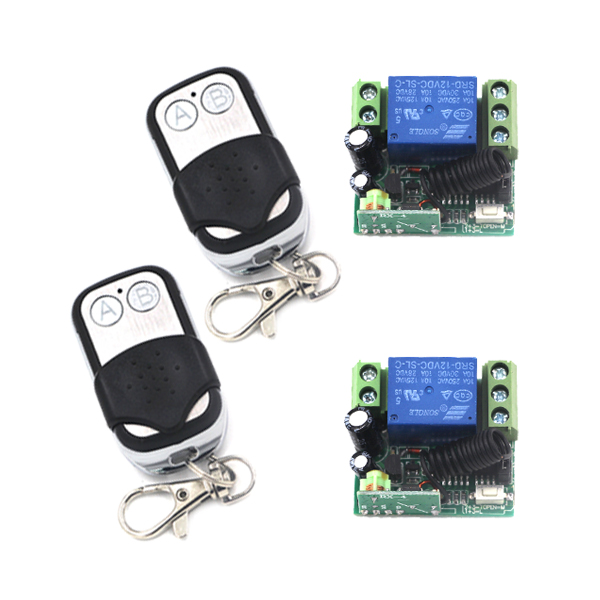 New Arrival Dc 12v 10a 1ch 1 Channel Wireless 2 Transmitter