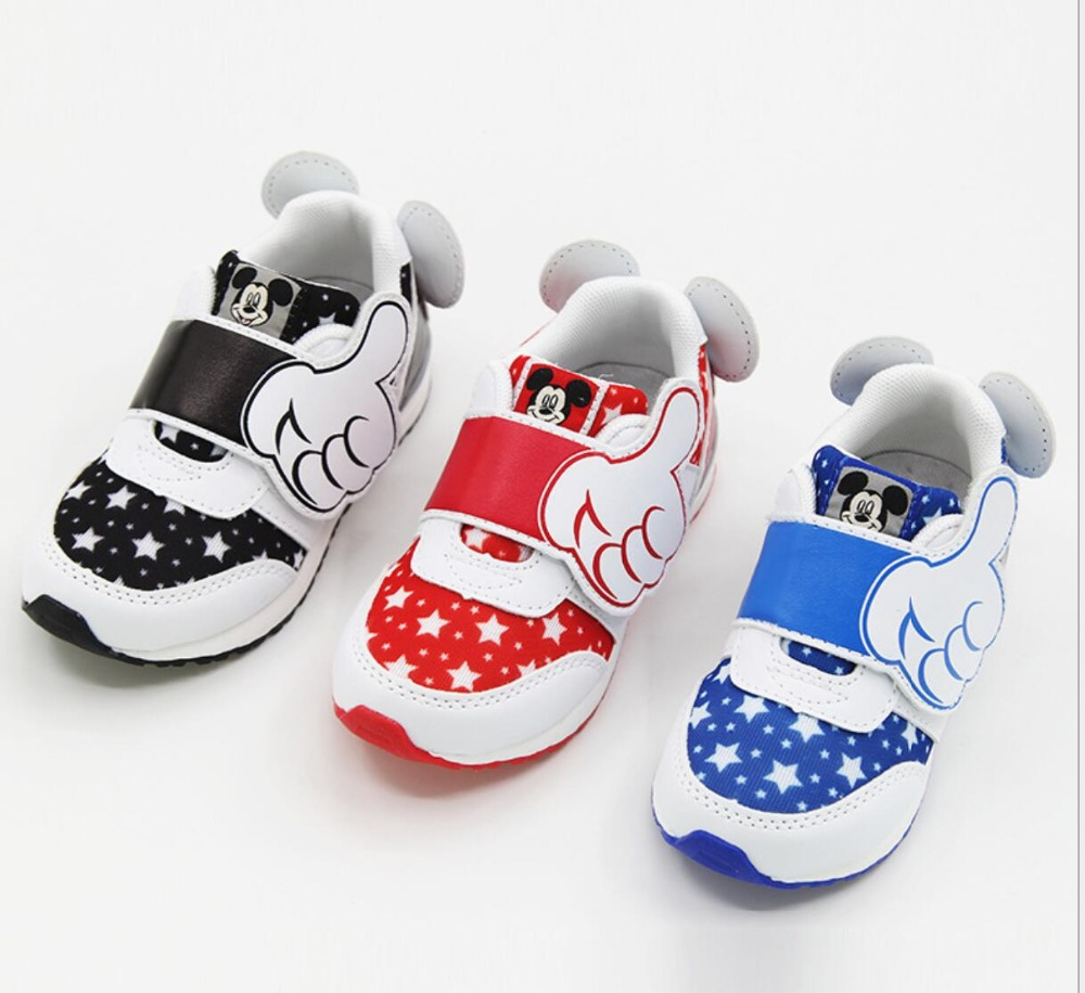 Children Shoes Girls white sneakers Boys School Running flats Kids Sports Footwear Disney Brand Casual Shoes joyyou brand 2017 children espadrilles kids shoes girls canvas shoes sweet pattern shoes baby flats casual shoes for girl592512