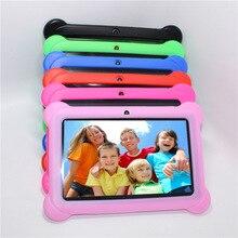 """Regalo para Niños Tablet PC 7 """"niños tablet Android 4.4 de Allwinner A33 Quad Core reproductor de google wifi 4 GB 7 colores Funda de Silicona de Regalo"""