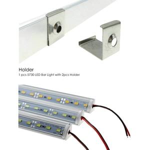 Image 3 - LED Tube Lamp for Wall Corner LED Bar Light DC 12V 50cm SMD 5730 Rigid LED Strip Light Under Cabinet Light Kitchen Home Decor