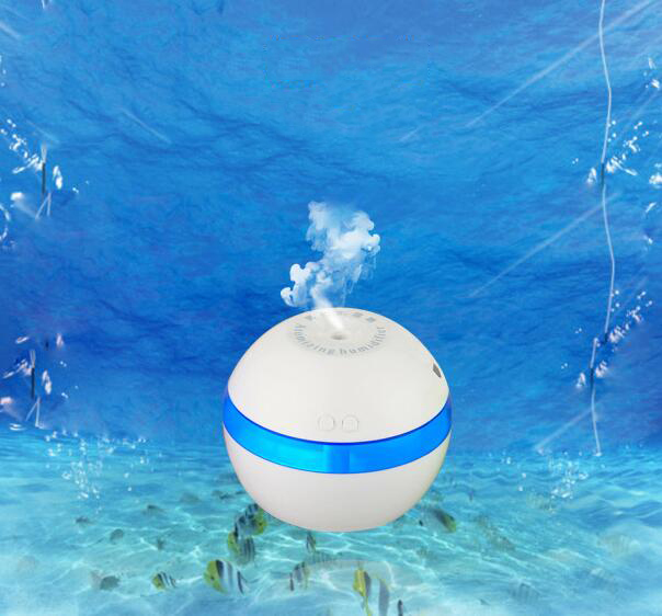 DC 5V Ultrasonic Air Aroma Car Humidifier Color LED Lights Electric Aromatherapy Essential Oil Aroma Diffuser Car Humidifier