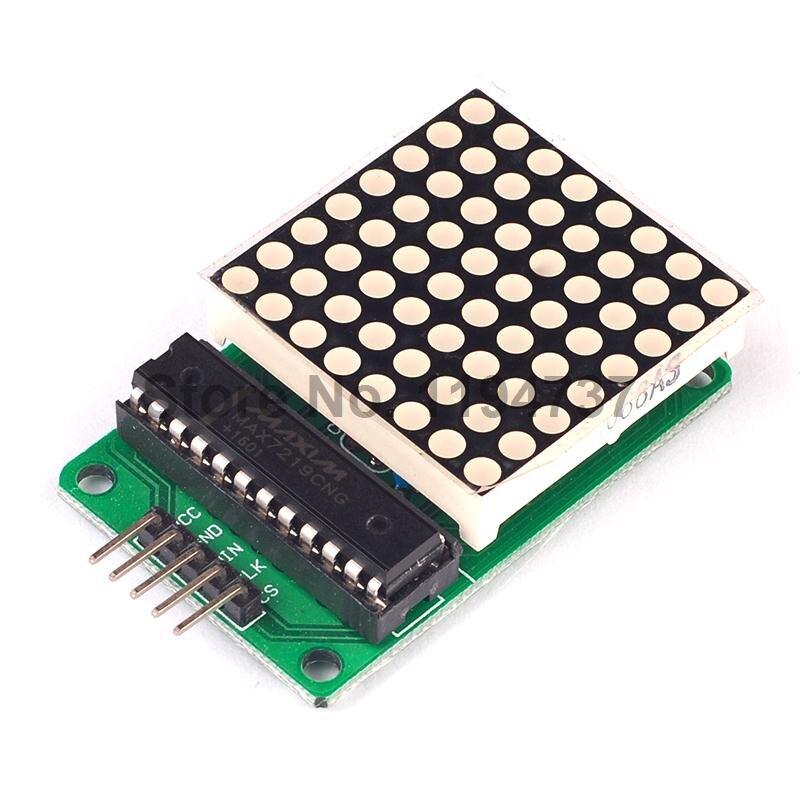 5pcs Max7219 Dot ᐂ Matrix Matrix Display Module Finished