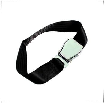 50 pieces Hot Sale High Quality Airplane Safety Seat Belt extender adjustable Aircraft Seat Belt extender Aluminum
