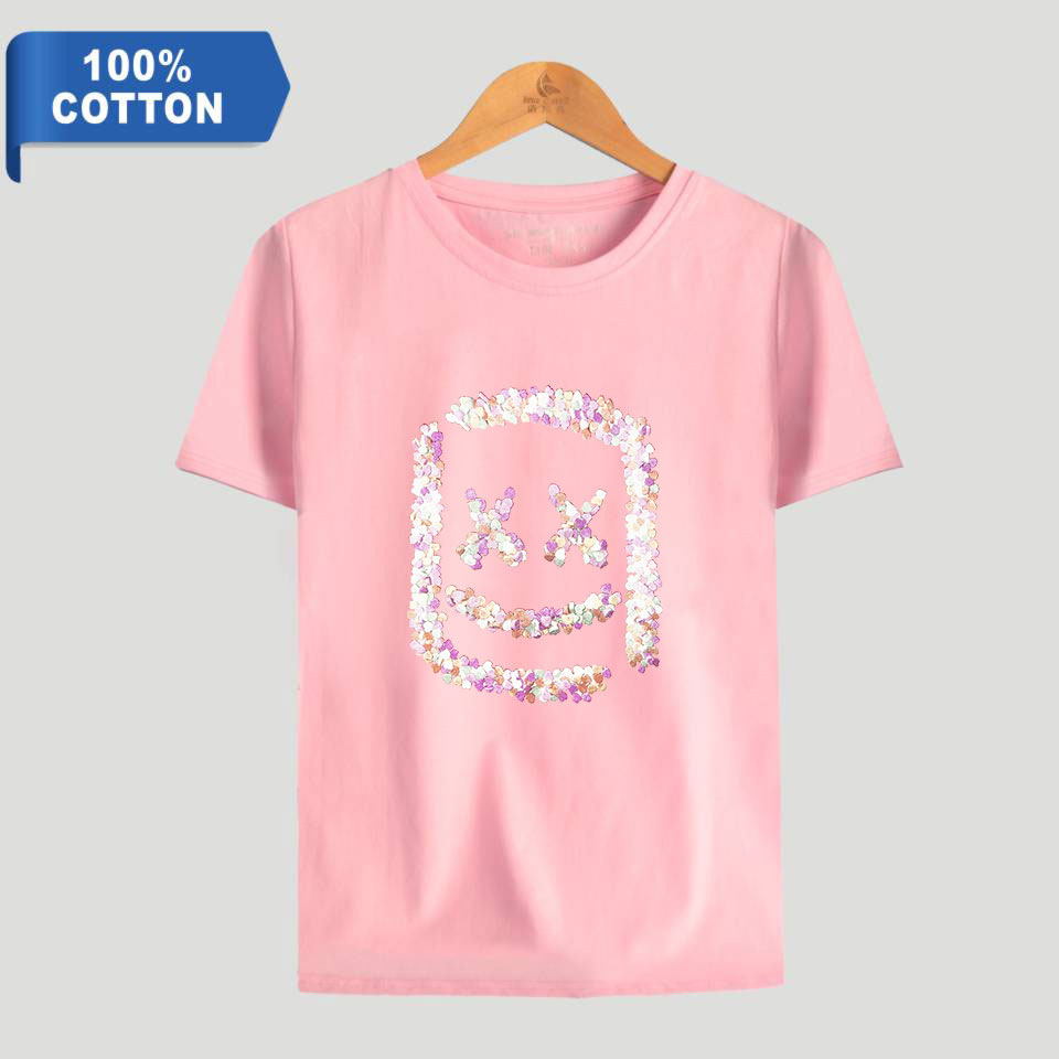 Marshmellow Head T-shirts for kids Boys Size XS S M L XL