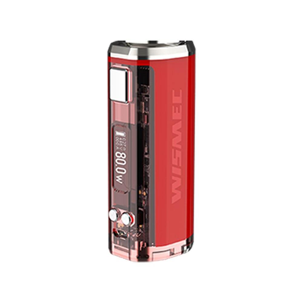 Le plus récent Original WISMEC sinueux V80 TC Box MOD alimenté par une seule cellule 18650 2A Charge rapide sans batterie Vape Mod Vs sinueux P80 - 4
