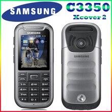 C3350 100% Оригинал Разблокирована Samsung C3350 2.2 Дюйм(ов) GPS GSM Дешевые Восстановленное Мобильного Телефона Бесплатная Доставка