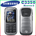 C3350 100% original desbloqueado samsung c3350 2.2 pulgadas gps gsm barato reformado teléfono móvil del envío gratis