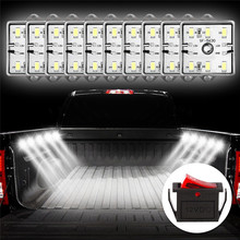 60 LED 12V 5730 SMD Low Consumption High Bright Cargo Camper RV Interior Light Trailer Boat Lamp Ceiling For Car Van#292140