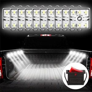 Image 1 - Luz Interior para caravana, lámpara de techo para coche y furgoneta, 60 LED, 12V, 5730 SMD, bajo consumo, alto brillo, para remolque, barco, #292140